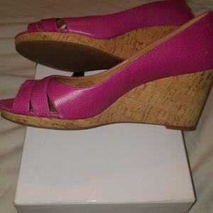 Nine west wedge heel